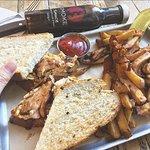 Chicken Peri Peri Sandwich!