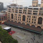 View onto Nelson Mandela Square from 6th floor balcony