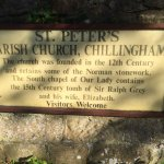 St. Peter's Parish Church on the grounds of Chillingham