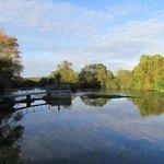 En bordure du Loir calme et reposant