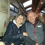 Onboard the train from Ollantaytambo to Aguas Calientes