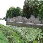 Wall of the canal that runs beneath Menin Gate.