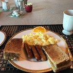 Breakfast is amazing