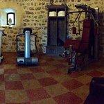 Fitnessraum im Turm