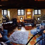 Ruhe-Lounge in der Turmspitze