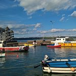The harbour at Youghal, a town recommended by Paul for its restaurants.