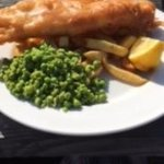 FIsh n Chips in the sun
