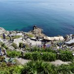 One of the best views at Minack Theatre
