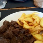 capriolo - roast beef - patate novelle