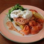 Fresh Salmon & Eggs!