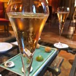 Champagne au salon
