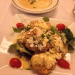 bisque and fried green tomatoes