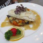 Fish in the Hotel Restaurant