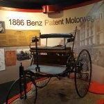 Replica of the 1886 Benz Patent Motorwagen