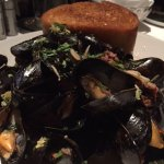 Mussels and fennel sausage