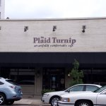 The facade of the Paid Turnip restaurant.