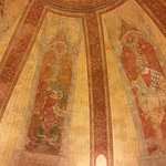 Fresques coupole de cathédrale de Cahors