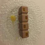 Lingotes de chocolate