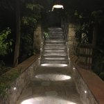 Charming walkway to the hotel