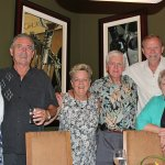 Friends at our wonderful dinner at Lahaina Grill, September 2017.