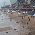 Esta é a foto da realidade da praia.