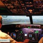 Landing Runway 4, Laguardia Airport, New York City