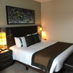 Executive room on 6 th floor - parking free but small spaces avail for hotel guests
