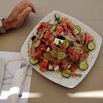 Just a small Greek salad