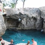 Lots Of Cliff Jumping At Rick's Did Not Jump Myself Cant Swim Great To Watch 26.09.2017 Jamaican