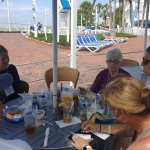 lunch at the Flying Bridge