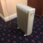This is the heating we got for £147 a night