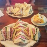 The Club sandwich for lunch was awesome!