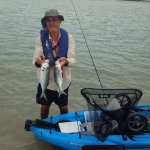 Plenty of fish in the mighty Clarence river