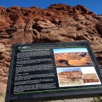 One of a dozen scenic stops on the Scenic Loop road in Red Rock Canyon