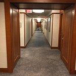 Dated hallways