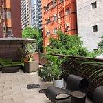 Eaton Residences, Wan Chai Gap Road - outdoor deck (2)