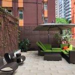 Eaton Residences, Wan Chai Gap Road - outdoor deck
