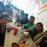 With Friends for a lunch