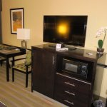 TV & Desk Room 218 - Best Western Canoga Park Inn (16/Aug/17).