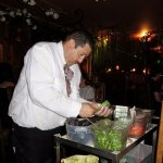 Tableside made Guacamole - Sol Y Luna in LA (16/Aug/17).