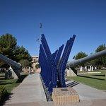 USS Arizona and USS Missouri gun barrels