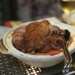 Sa Cha Ya - knusprig geröstete Ente 🦆 mit Gemüse und Knoblauch (scharf)