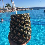 This was my favorite drink, they were pouring them out in the pool area