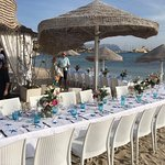 Best restaurant and location in Golfo Aranci! Thank you so much for making our wedding so specta