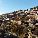 A small town in the middle of the mountains, Shimla was colonized by the British a long time ago