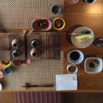 An example of breakfast, Hakone style