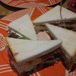 "Club sandwich ""Sauro"""