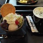 Sakura ice e Milk Matcha