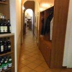 Area di accesso a Sala Pranzo/Cena