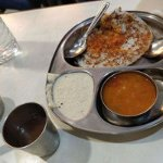 Set Dosa with Rasam